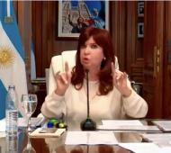 Cristina Kirchner declaró en la causa Dólar Futuro.