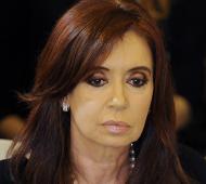 Cristina apuntó contra Vidal.