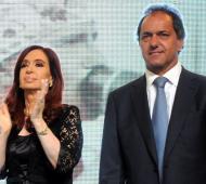 Scioli y Zannini reemplazarán a Cristina en el acto de Santiago del Estero.