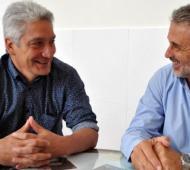 José Luis Zara (Juntos por el Cambio) y Ricardo Curetti (Frente de Todos)