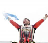 Aguirre obtuvo su primera victoria en la máxima categoría del automovilismo nacional