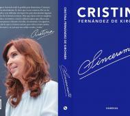 """Desde Cambiemos lapidaron el libro de Cristina titulado """"Sinceramente"""". Foto: Prensa"""