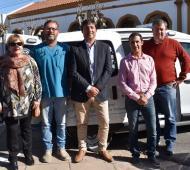 """Nuevas ambulancias para el Hospital Municipal """"Pedro M. Romanazzi"""" de Daireaux. Foto: Prensa"""