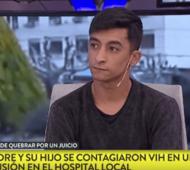 Juan Cruz se contagió HIV por mala praxis.