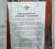 Lomas de Zamora: Nuevo conflicto en Danica que paró su producción