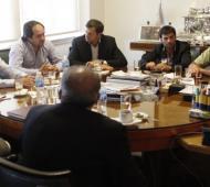 De Vido mantuvo una reunión con intendentes.