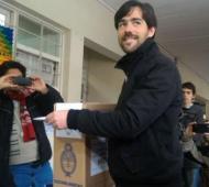 Del Caño emitió su voto en Mendoza.
