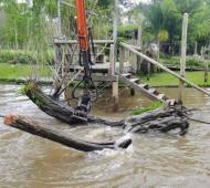 Tigre extiende los trabajos de limpieza y mantenimiento en el Delta