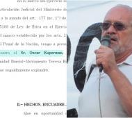 Bullrich denuncia al dirigente Oscar Kuperman por amenazas de saqueos a supermercados