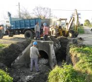 Trabajarán en la colocación de desagües pluviales, red vial y obras complementarias. Foto: Ilustración.