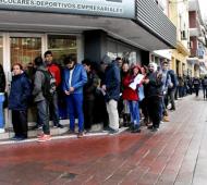 La desocupación en Mar del Plata se disparó a 26%. (Foto de archivo)
