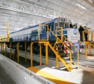 Anunciaron la construcción de una fábrica de trenes en Mechita. Foto: Prensa