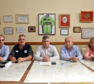 El intendente de Chivilcoy alcanzó un acuerdo con los trabajadores municipales. Foto: Prensa