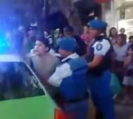 El joven finalmente fue liberado por la Policía.