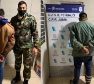 Baigorrita: Dos detenidos por asalto en un camino rural a dos hermanos ancianos que habían cobrado una herencia