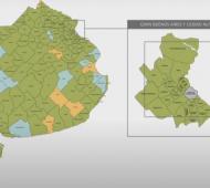 Salvo 6 municipios, están todos en DISPO