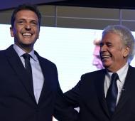 """El recuerdo de Sergio Massa para De La Sota: """"Te voy a admirar siempre"""""""