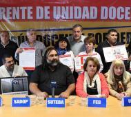 Conflicto docente en Provincia: Ante la falta de convocatoria, gremios tendrán una jornada de lucha la próxima semana