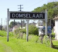 San Vicente: El tren vuelve a parar en la estación Domselaar