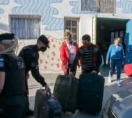 La PSA donó objetos perdidos que estaban en un depósito de Ezeiza