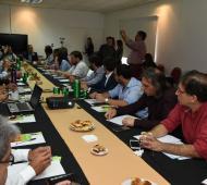 Secretarios de Producción de diversos municipios se reunieron en Ituzaingó por la situación económica