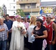 Magario anticipó festejos navideños en La Matanza