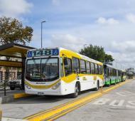 La construcción del tramo llevó un año y será utilizado por diez líneas de colectivo.
