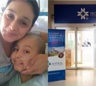 Dilan y su mamá necesitan la ayuda de todos.