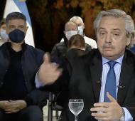 Jorge Macri quedó en primer plano durante la transmisión del Gobierno Nacional