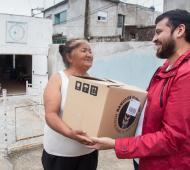 Quilmes: El municipio entregó más de diez mil productos lácteos a doce organizaciones sociales