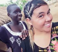 Eliana Díaz tenía 25 años y murió en Uganda.