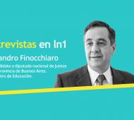 Alejandro Finocchiaro dialogó con LaNoticia1.com.