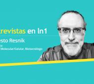Ernesto Resnik vive en Mineápolis y trabaja en biotecnología