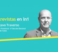 Gustavo Traverso dialogó con LaNoticia1.com.