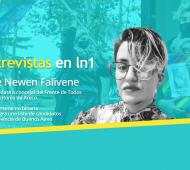 Nele Newen Falivene dialogó con LaNoticia1.com.