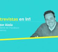 Aiola destacó la gestión de Cambiemos a nivel nacional y provincial. Foto: Prensa