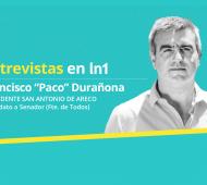 """Frencisco """"Paco"""" Durañona dialogó con LaNoticia1.com"""