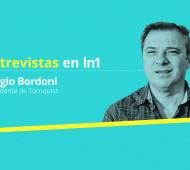 Sergio Bordoni renovó duros cuestionamientos contra el actual Gobierno. Foto: Lanoticia1.com
