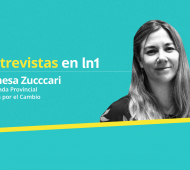 Vanesa Zuccari dialogó con LaNoticia1.com