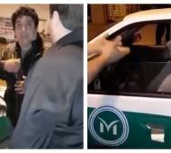 Los inspectores fueron filmados por los directivos.