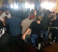 Golpes, gritos e incidentes en el Concejo Deliberante. Foto: HoyMercedes