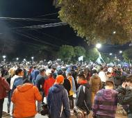 Varias comunas estuvieron de fiesta
