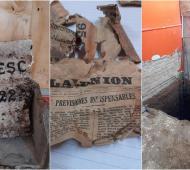 Lomas de Zamora: Hallan sorpresa histórica debajo de la escuela 40