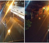 Desde el PRO mostraron las inundaciones en San Justo.