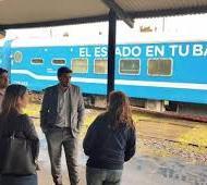 El Tren socio- sanitario llega a Nueve de Julio.
