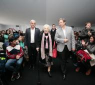 Cascallares y Estela de Carlotto inauguraron la Feria Internacional del Libro en Brown