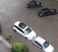 Inundaciones en Pinamar - Foto: FM La Marea