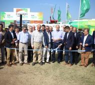 Expoagro 2020: En medio del paro del campo, se inauguró la muestra en San Nicolás con Manuel Passaglia y Perotti