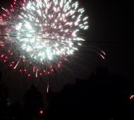 Los fuegos artificiales iluminarán el cielo de Ezeiza.