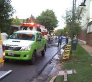 La fuga de amoníaco y la denuncia de vecinos provocó la clausura de la planta. Foto: ONG La Multiforme.